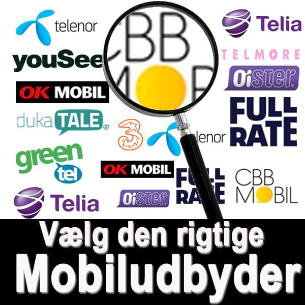Guide til at vælge den rigtige mobiludbyder | Sydals.dk