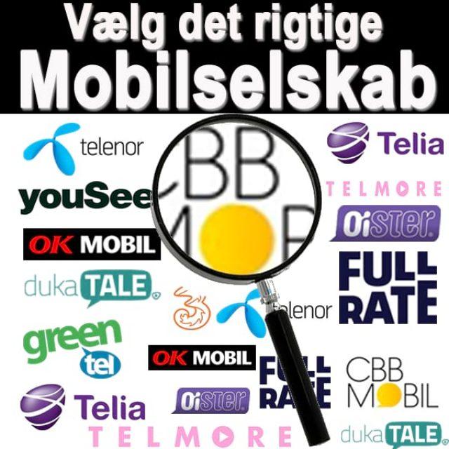 Valg af mobilselskab