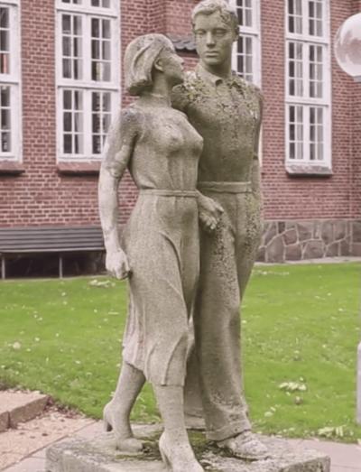 Mand og pige